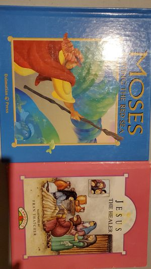 2 religion books for Sale in Roseville, MI