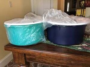 Giant Canisters Set Tupperware for Sale in Marietta, GA