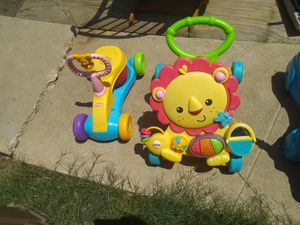 Kids toy sit and bounce ,lion Walker for Sale in San Antonio, TX