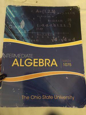 Intermediate Algebra Math 1075 for Sale in Delaware, OH