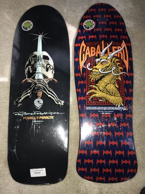 Powell Peralta 1980s 2013 reissue decks, sealed. for Sale in Gaithersburg, MD