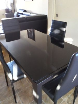 Comedor nuevo negro for Sale in Lehigh Acres, FL