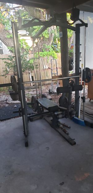 Weight set for Sale in Fort Pierce, FL
