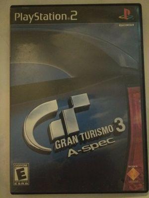 PS2 GRAN TURISMO 3 COMPLETE for Sale in Las Vegas, NV