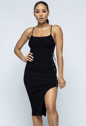 Black side part dress for Sale in North Las Vegas, NV