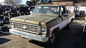 Parting out 1974 Chevy long bed pickup no engine no transmission no vin no paperwork for Sale in Fresno, CA
