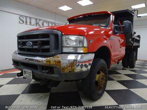 2002 Ford F-350 Mason Dump Truck w/ SNOW PLOW for Sale in Paterson, NJ