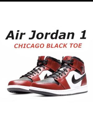 BRAND NEW AIR JORDAN 1 MID CHICAGO BLACK TOE STARTING PRICES $200 and UP SIZE 5.5y 7Y 7.5 8 8.5 9 9.5 10 10.5 11 11.5 12 12.5 14 for Sale in Renton, WA