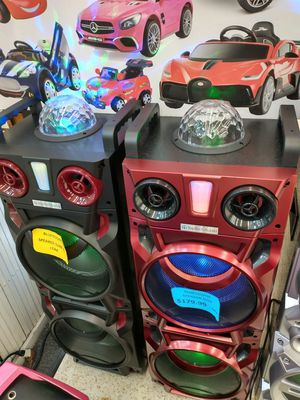 WIRELESS BLUETOOTH SPEAKER SYSTEM WITH FREE KARAOKE AND REMOTE CONTROL for Sale in South Houston, TX