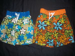 Boys Gymboree Swim Trunks size 3 3T -- 2 pairs for Sale in Tacoma, WA