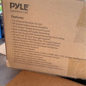 5.2 Channel Reciver System AV Audio Video Stereo for Sale in Phoenix, AZ