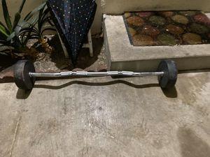 60 lbs fix ez curl bar gpi brand for Sale in Fullerton, CA