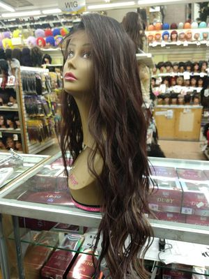 NN. Long loose wave lace front wig for Sale in S CHESTERFLD, VA