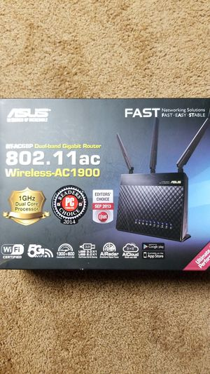 ASUS Dualband Gaming Router (SUPER FAST!) for Sale in Lincoln, RI