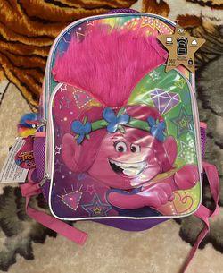 "DreamWorks Trolls World Tour Poppy Girls Backpack School Laptop Book Bag 16"" for Sale in Oxnard,  CA"