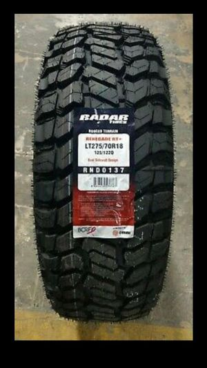 MONKEY wheels and tires 275 70 18 for Sale in Phoenix, AZ