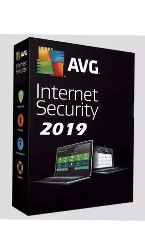 Antivirus AVG Internet Security 2019 / 1 year 1 pc for Sale in Sterling, VA