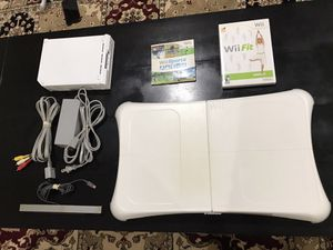 Wii console with board and game! for Sale in Alexandria, VA