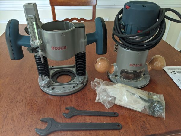 Bosch1617EVSPK Wood Router Tool Combo Kit