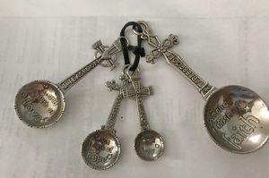 New! Ganz Cross Measuring Spoons for Sale in Westminster, CA