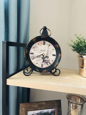 Antique Rustic Style Paris Clock for Sale in Arlington, VA