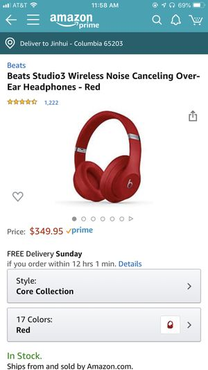 Beats studio 3 95% new for Sale in Columbia, MO