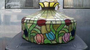 Huge stained glass light fixture for Sale in Portsmouth, VA