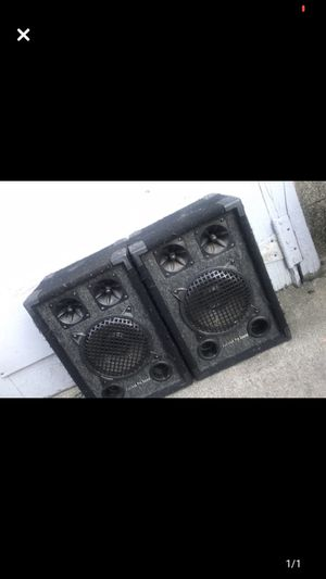 AUDIOTEK PROSOUND SPEAKER !!! for Sale in East Providence, RI