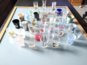 Collection of Shot Glasses - Worldwide! for Sale in undefined