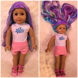 American girl customized doll for Sale in Burlington, NC