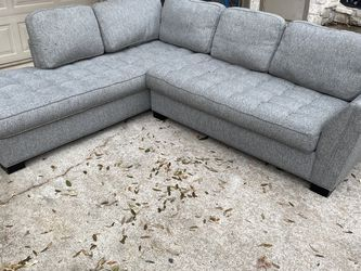 Really great graygreat gray sectional! FREE DELIVERY!!!! for Sale in Dallas,  TX
