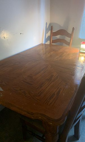 Big dinner table solid oak! for Sale in Concord, CA