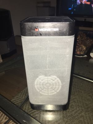 Monster Bluetooth speaker for Sale in Kyle, TX