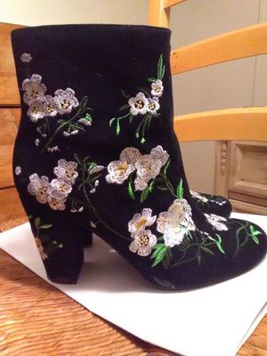 Embroidered forever 21 boots for Sale in Silver Spring, MD
