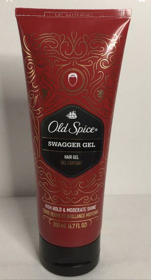 Old Spice Swagger Hair Gel ~ High Hold & Moderate Shine ~ 6.7oz. New / Un-boxed for Sale in Los Angeles, CA