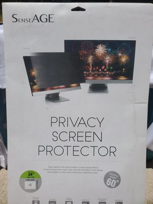 $45 COMPUTER MONITOR PRIVACY SCREEN for Sale in Las Vegas, NV