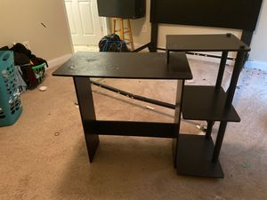Desk for sell. Needs to be screwed tighter, SELL TODAY!! for Sale in Powersville, GA
