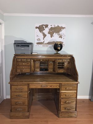 Vintage postmaster office desk for Sale in Westfield, MA