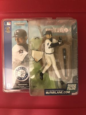 2002 McFarlane S Sportpicks Toy MLB Ichiro No 51 Seattle Mariners Series 1 Rookie Action Figure 🔥🔥🔥 for Sale in Greenville, SC