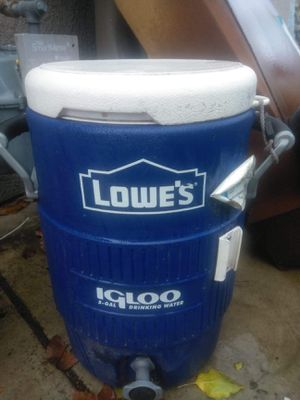 Lowe's 5gallon igloo for Sale in French Camp, CA