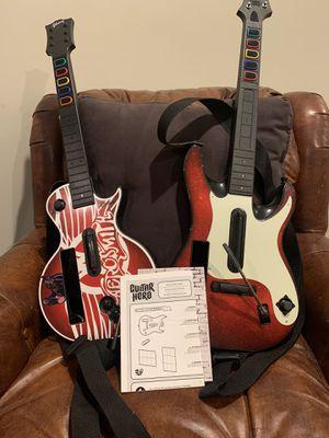 Wii drum set, two guitars for Sale in Atlanta, GA
