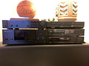 Yamaha stereo power amplifier M 80 Yamaha stereo control amplifier C 40 / Sony VHS and DVD video player/ Denon compact disc player / Denon AM/FM ster for Sale in Vancouver, WA