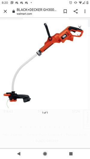 Black and Decker Electric Weed Eater for Sale in Indianapolis, IN