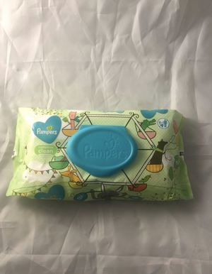 Pampers Baby Wipes Complete Clean Unscented 72 ct. for Sale in Chesapeake, VA