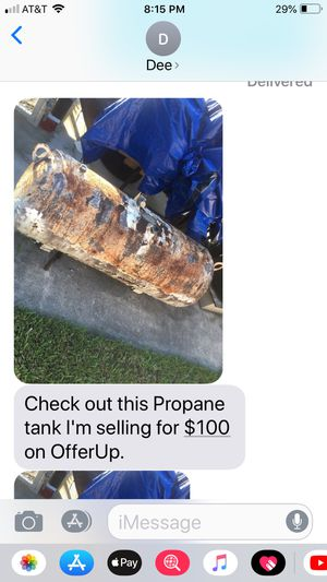 Tank for grilling , MAKE a BBQ grill for Sale in West Palm Beach, FL