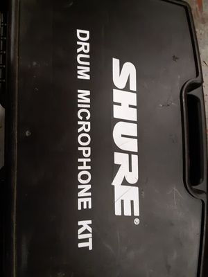 Shure drum mics for Sale in Lewiston, ME