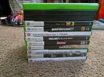 Xbox 360 games (see description for prices) for Sale in Stuarts Draft,  VA