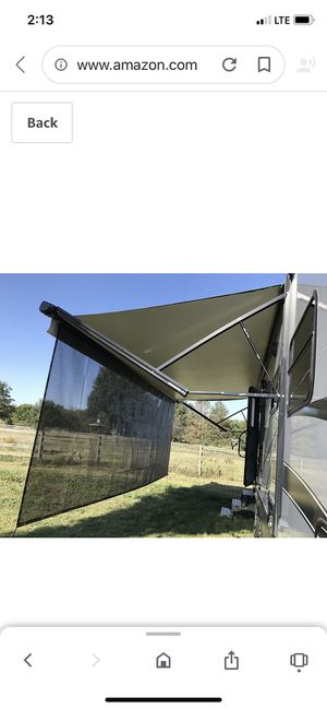 Rv awning screens I great shape we upgraded for Sale in Sebring, FL
