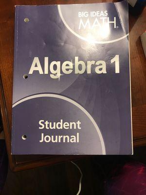 Big ideas MATH Algebra 1 Student Journal book FREE for Sale in Temecula, CA