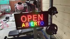 Open sign for Sale in Salinas, CA